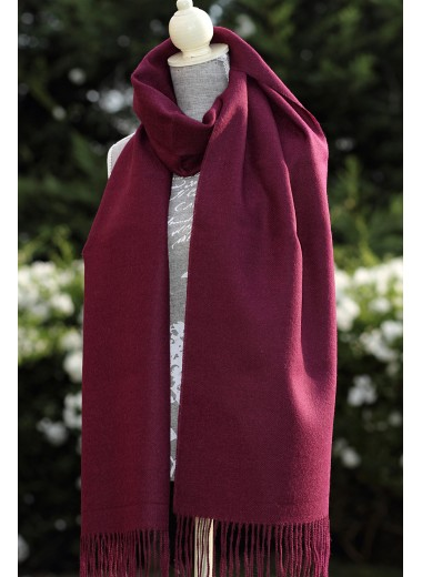 Scarf Plain Wine SOLD OUT