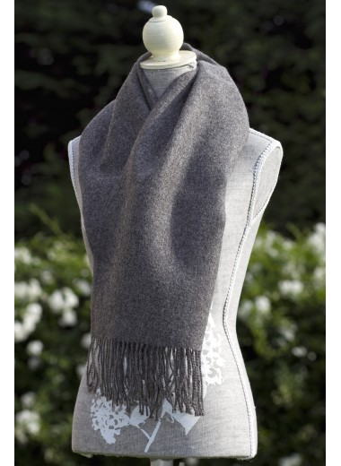 Scarf Plain Grey SOLD OUT
