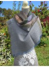 LARGE SQUARE SCARF VARIOUS COLOURS 100% BABY ALPACA