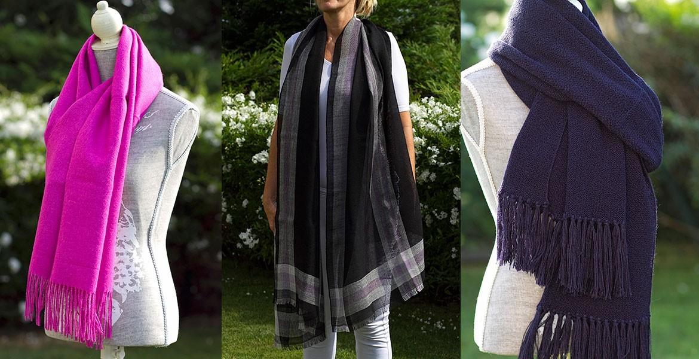 Alpaca scarves and pashminas - Sbellneck